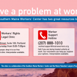 Worker Support Hotline and Legal Clinic